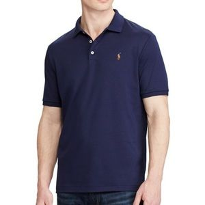 Classic Fit Pima Soft Polo XL French Navy